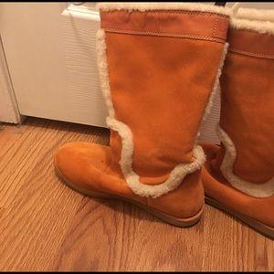 Cole Haan fleece boot